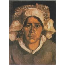 Vincent van Gogh - Boerin met witte muts