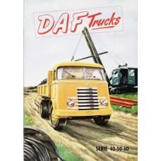 Daf trucks - 1952
